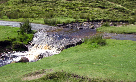 James Herriot's famous watersplash in Swaledale